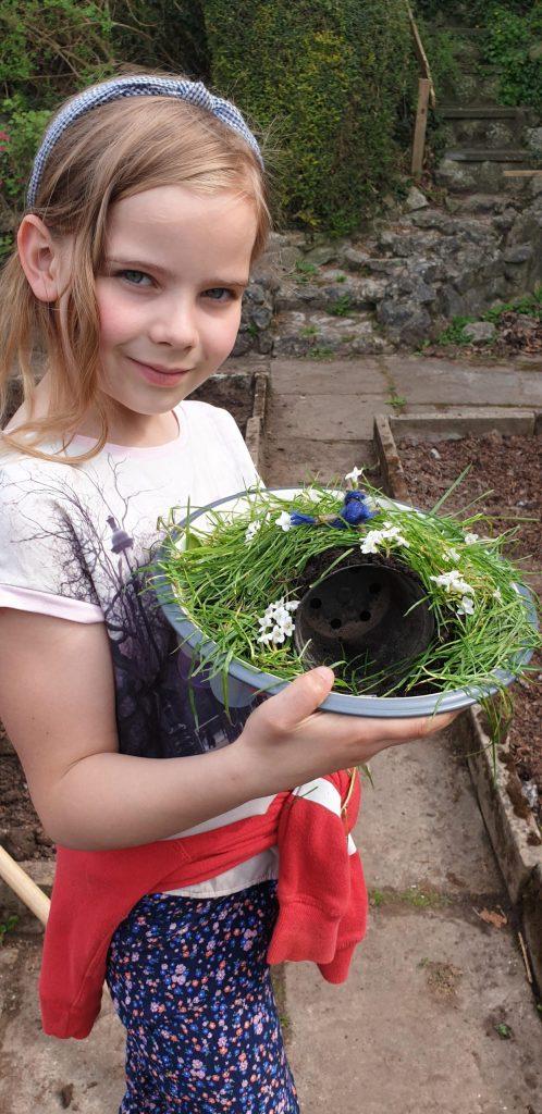 Mairi has made a super Easter garden.